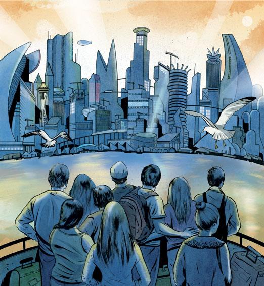 Seattle in the Year 2100 – Joel Kimmel