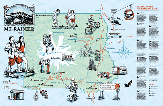 Illustrated Map  Joel Kimmel